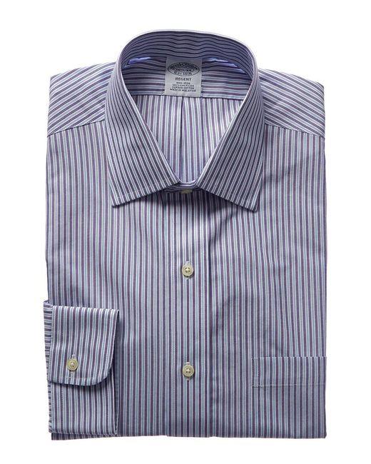 Brooks Brothers - Purple 1818 Regent Fit Dress Shirt for Men - Lyst