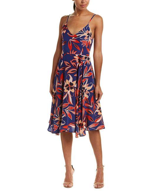 Yumi Kim - Blue Silk A-line Dress - Lyst