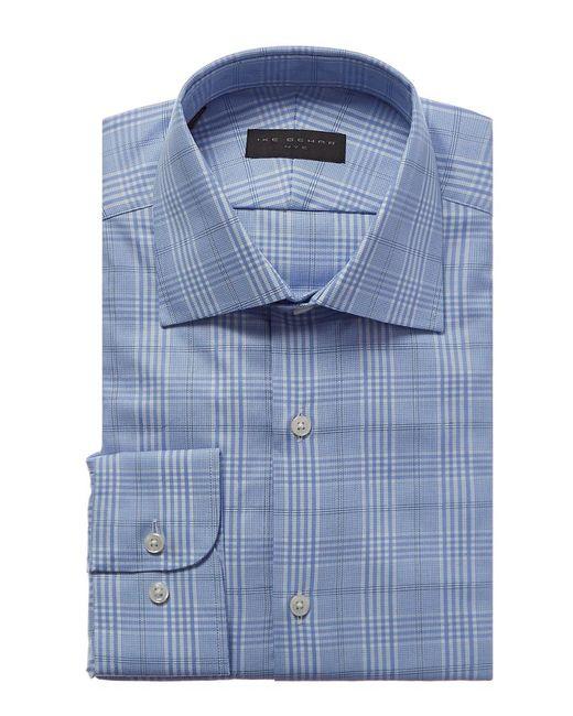 Ike Behar - Blue Classic Fit Dress Shirt for Men - Lyst