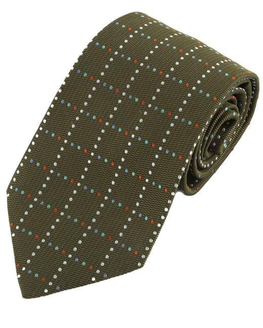 Hermès - Green Silk Tie for Men - Lyst