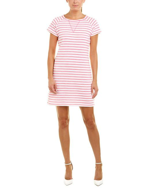 Sail To Sable - Pink Shift Dress - Lyst