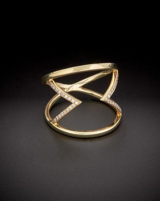 Meira T - Multicolor 14k 0.12 Ct. Tw. Diamond Ring - Lyst