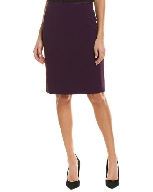 Tahari - Purple Tahari Asl Skirt - Lyst