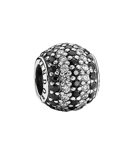 Pandora | Metallic Silver Cz Nautical Pavé Lights Charm | Lyst