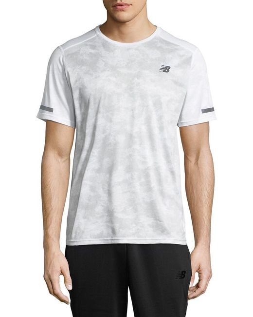 New Balance - White Max Intensity Top for Men - Lyst