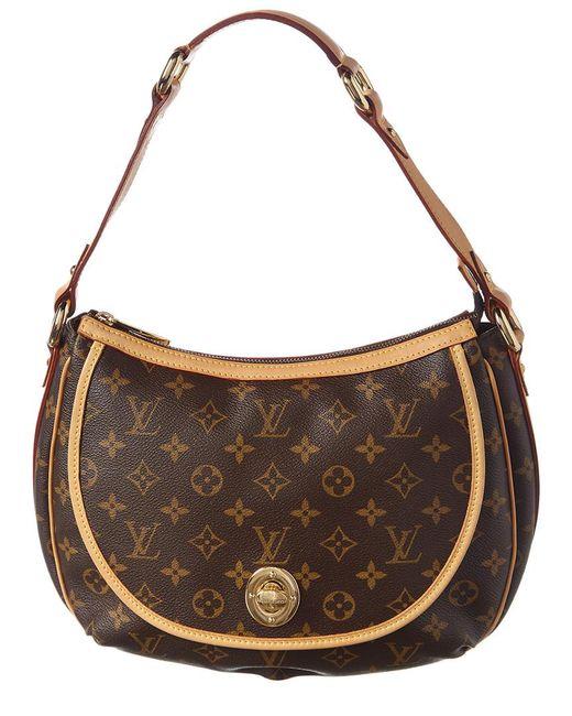 71f29995824d Louis Vuitton - Brown Monogram Canvas Tulum Pm - Lyst ...