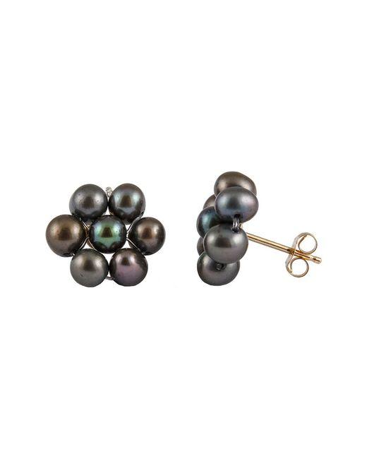 Splendid - Multicolor 14k 3-4mm Freshwater Pearl Drop Earrings - Lyst