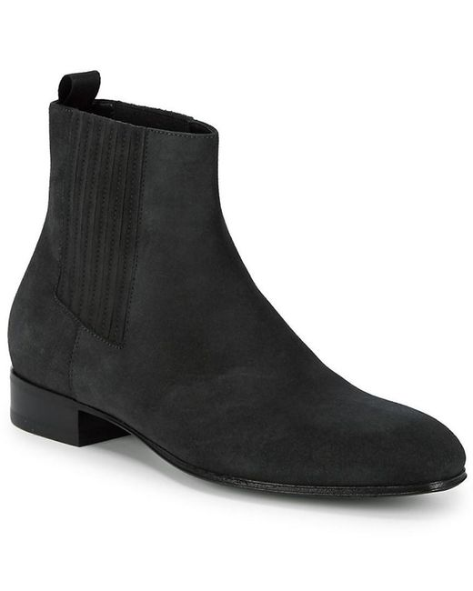 0a13d5c113a47 Balenciaga Gilt Edit: Leather Chelsea Boot in Green for Men - Save ...