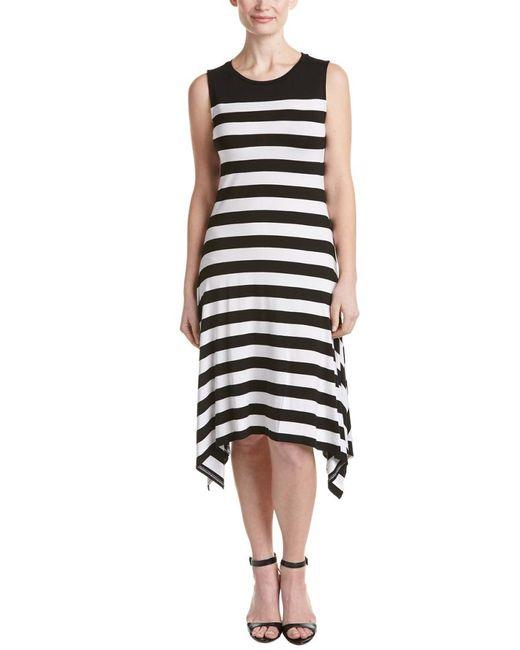 Vince Camuto | Black Petite Shift Dress | Lyst
