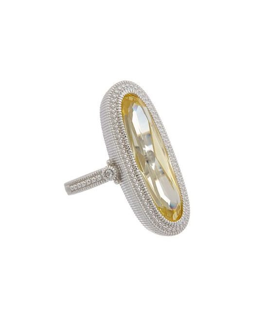 Judith Ripka - Metallic Rio Silver 0.52 Ct. Tw. Gemstone Ring - Lyst