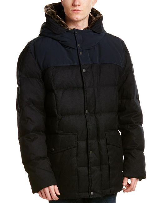 Cole Haan - Blue Quilted Down Jacket for Men - Lyst