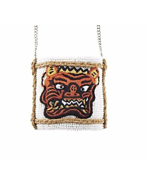 Forest Of Chintz | Orange Sake Face Pendant Necklace | Lyst