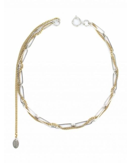 Justine Clenquet | Multicolor Sinead 24k Gold And Palladium-plated Choker | Lyst