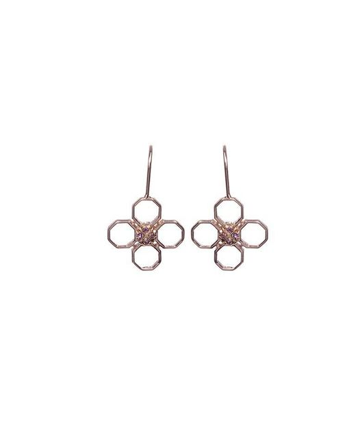 Madstone - Metallic Mini M8 Rose Earrings - Lyst