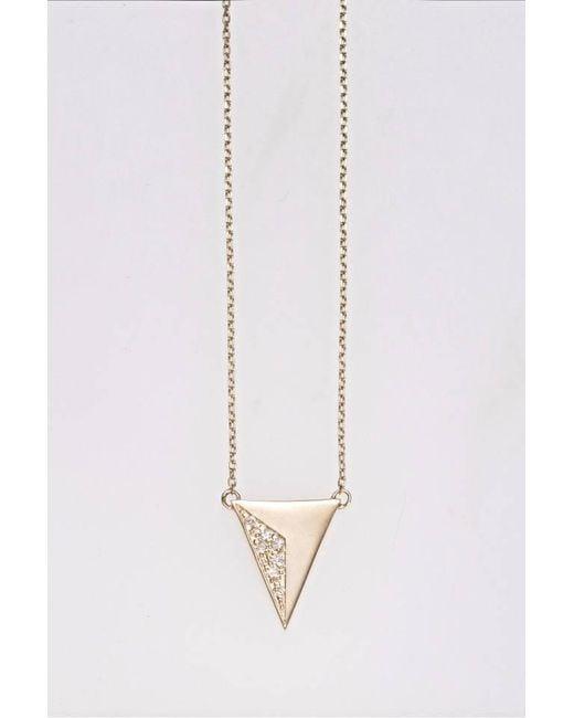 Liza Belachew | Metallic Share The Art Diamond No4 Necklace | Lyst