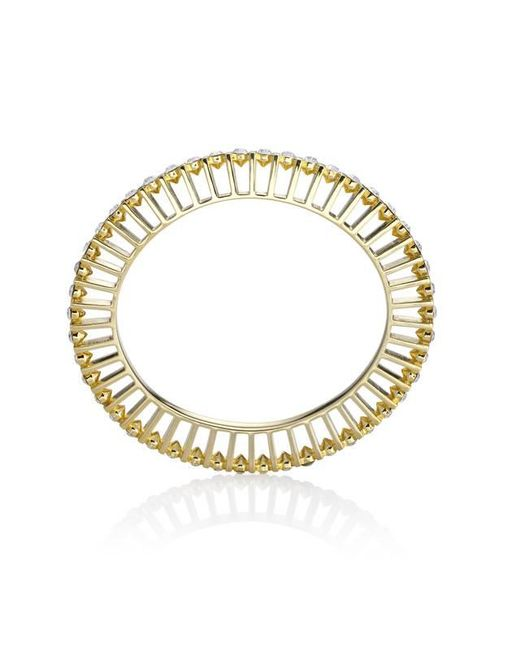 Yael Salomon - Metallic Ella 10 Gold And Crystal Bangle - Lyst