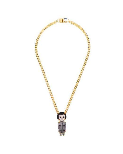 Bijoux De Famille | Multicolor Coco Chain Necklace | Lyst