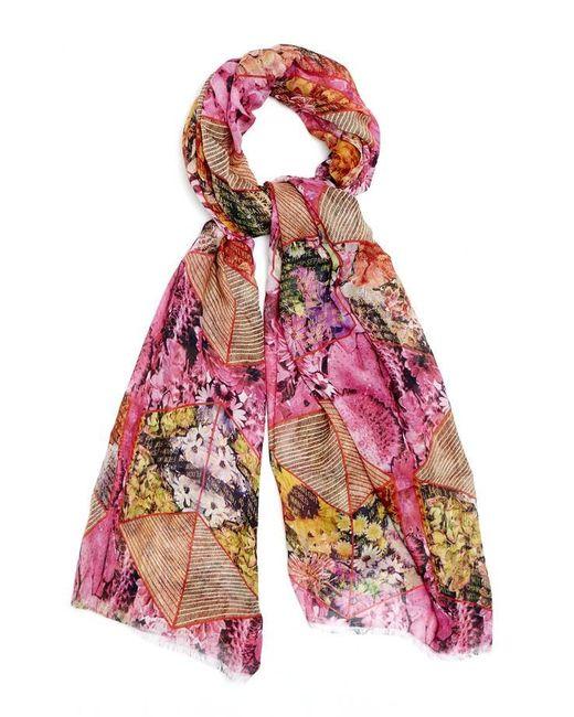 Kekkai | Multicolor Flower Cubes Cashmere Blend Scarf | Lyst