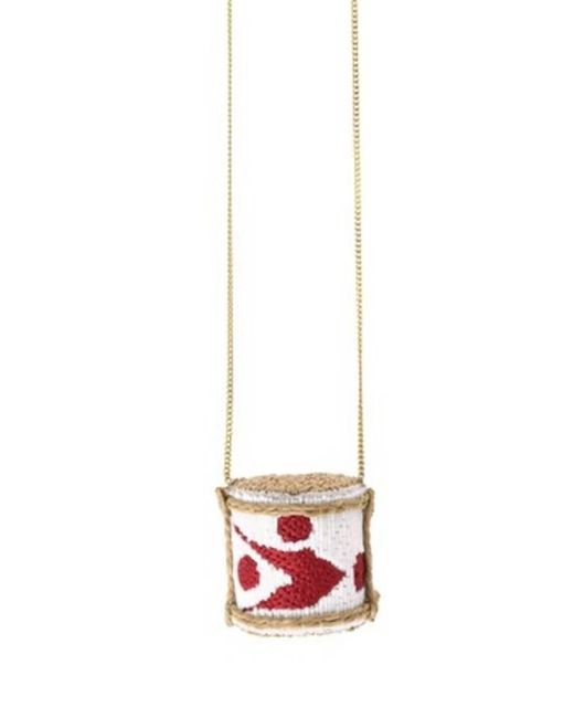 Forest Of Chintz | White Sake Special Brew Pendant Necklace | Lyst