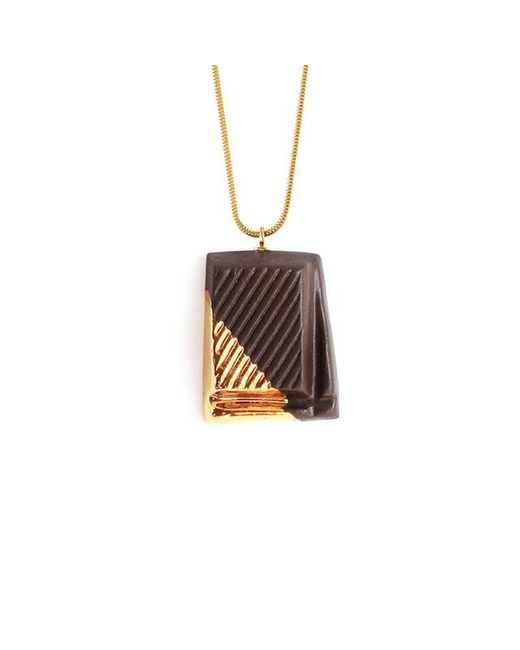 Tadam! Design | Metallic Dark Chocolate With Gold Glaze | Lyst