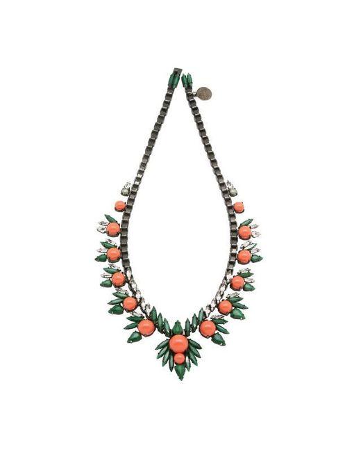 Ellen Conde | Metallic Khloè Coral Necklace | Lyst