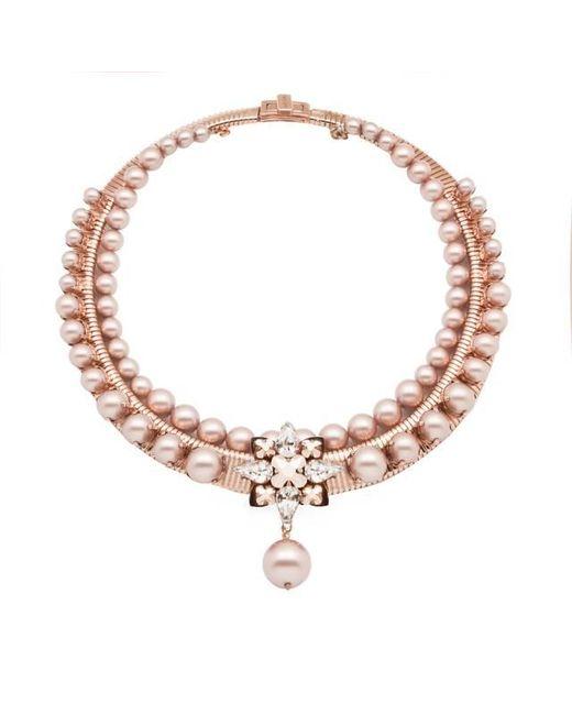 Ellen Conde | Metallic Bonnie Almond Necklace | Lyst