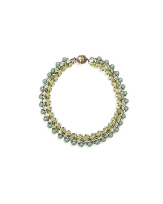 Tataborello | Green Summer Place Choker Necklace 01 | Lyst