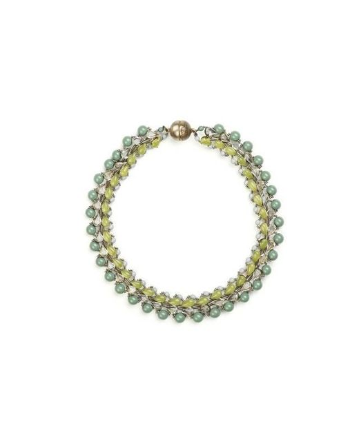 Tataborello   Green Summer Place Choker Necklace 01   Lyst