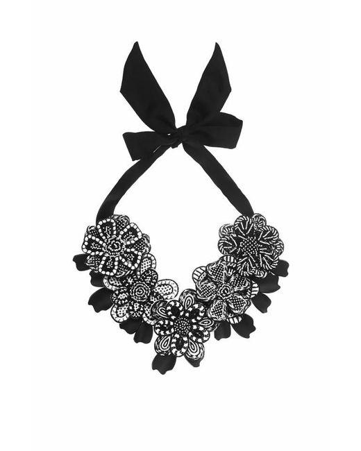 Forest Of Chintz | Black Aztec Garland Necklace | Lyst