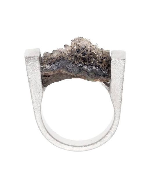 Pasionae - Metallic Melancholia Ring - Lyst
