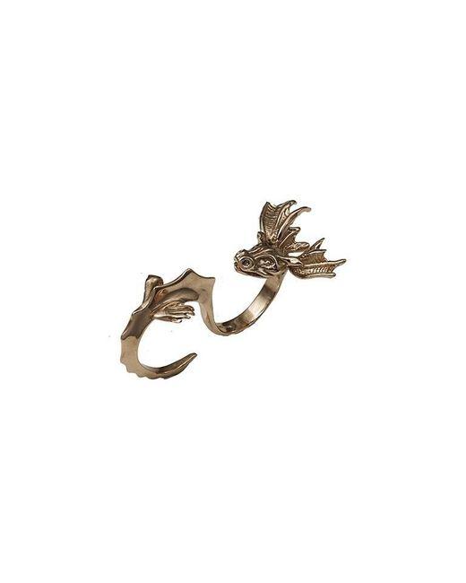 Bernard Delettrez | Metallic Dragon Two Finger Bronze Ring | Lyst