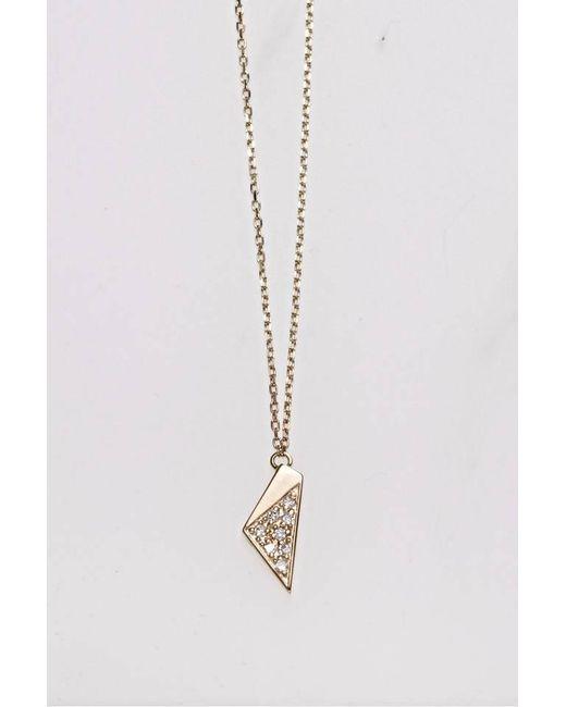 Liza Belachew | Metallic Share The Art Diamond No7 Necklace | Lyst