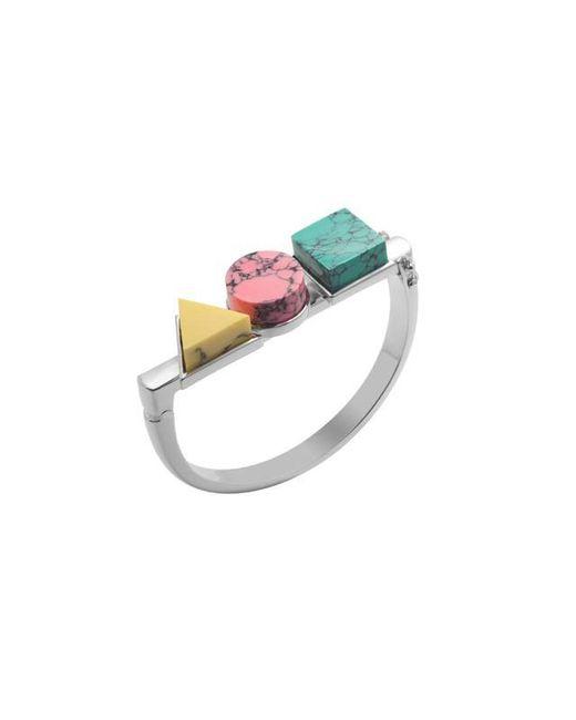Eshvi | Multicolor Back To School Marble Triple Bracelet | Lyst