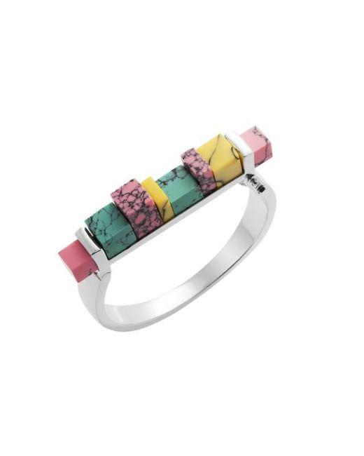 Eshvi   Multicolor Back To School Marble Hinge Bracelet   Lyst