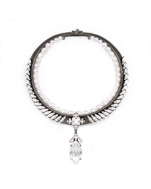 Ellen Conde | Metallic Michele Classic Necklace | Lyst