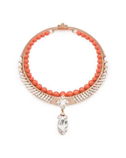 Ellen Conde | Pink Michele Coral Necklace | Lyst
