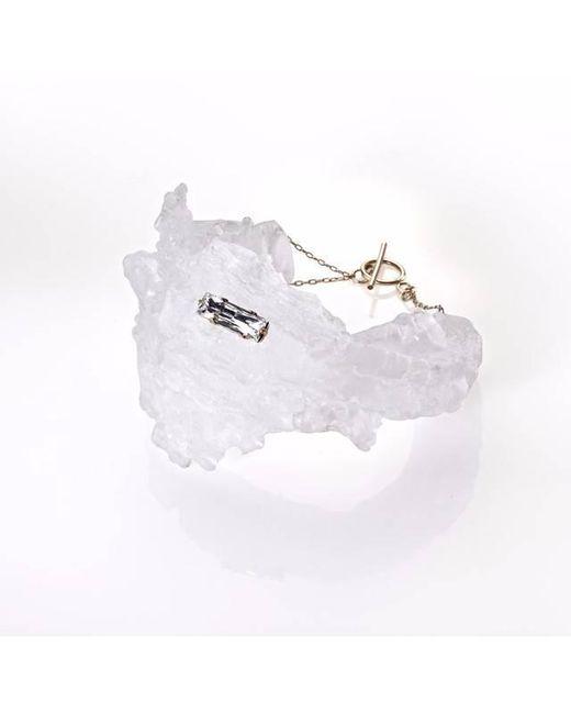Noritamy - Nikko Icy White Polymer Bracelet - Lyst