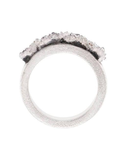 Pasionae | Metallic The Band Ring | Lyst