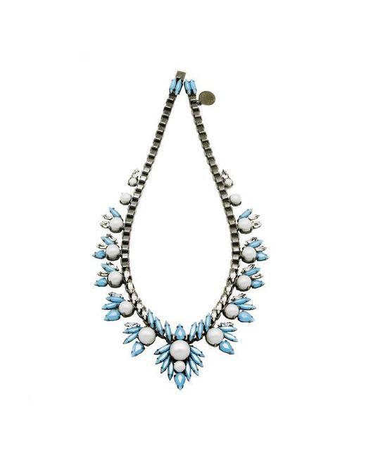 Ellen Conde | Khloè Blue Necklace | Lyst