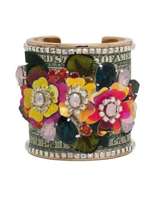 Bijoux De Famille | Multicolor Flower Power Cuff | Lyst