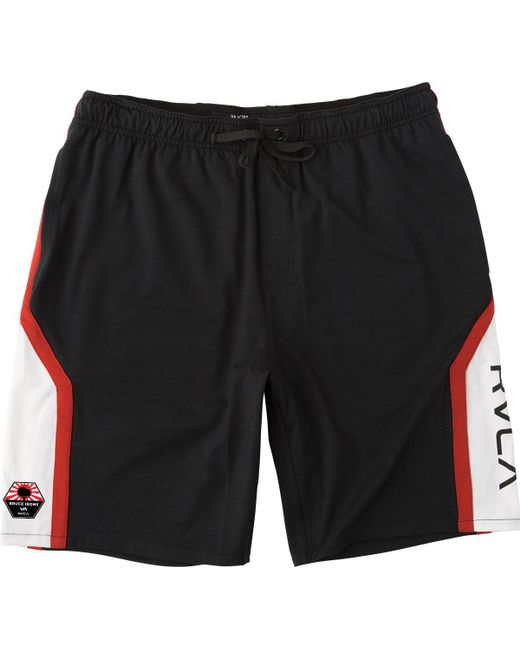 RVCA | Black Bruce Sport Short for Men | Lyst