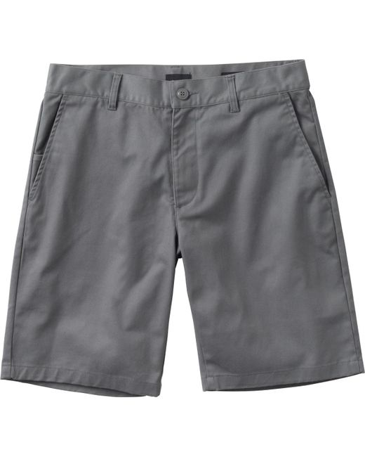 RVCA - Gray Week-end Stretch Shorts for Men - Lyst