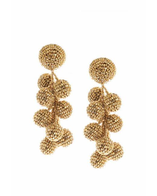 Sachin & Babi   Metallic Coconuts Earrings   Yellow Gold   Lyst