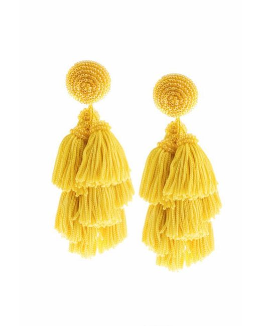 Sachin & Babi | Yellow Chacha Earrings | Lemon | Lyst