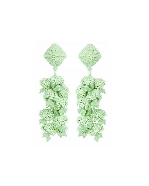 Sachin & Babi | Grapes Earrings | Apple Green | Lyst