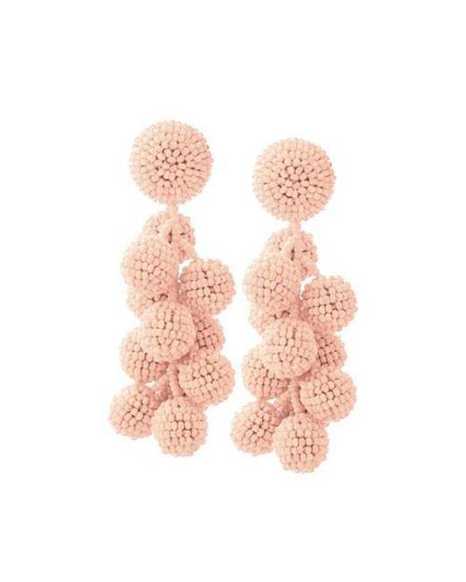 Sachin & Babi Coconuts earrings - Pink & Purple ROWtyLnwg