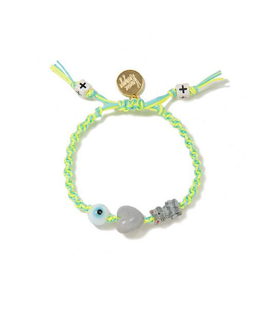 Venessa Arizaga | Green I Love Cats Friendship Bracelet | Lyst