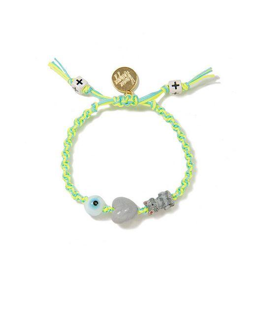 Venessa Arizaga | Green I Love Cats Friendship Bracelet | Lyst