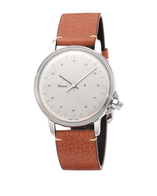 Miansai | Gray M12 Stainless Steel Chronograph Watch | Lyst