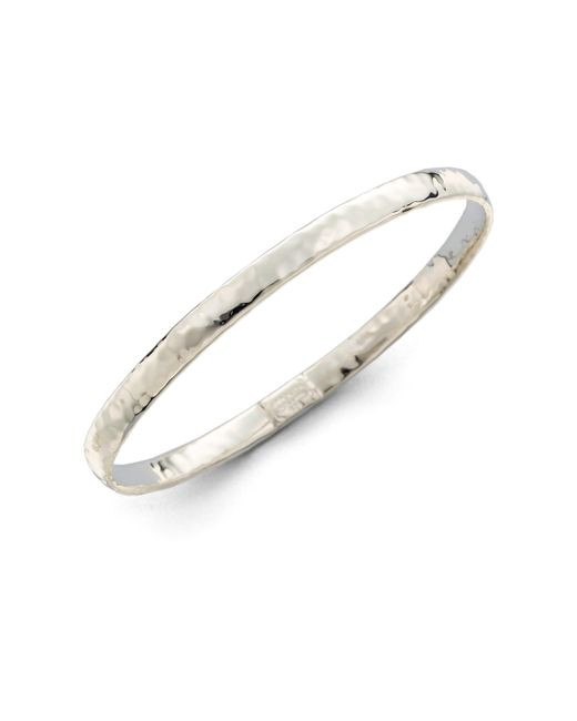 Ippolita | Metallic Glamazon Sterling Silver Flat Bangle Bracelet | Lyst